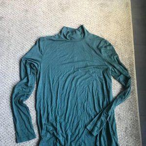 Dex Tops - Forest Green Turtleneck T-shirt from Dex